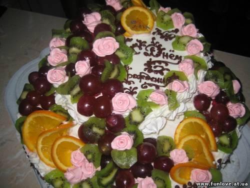 фотографии тортов в день рождения